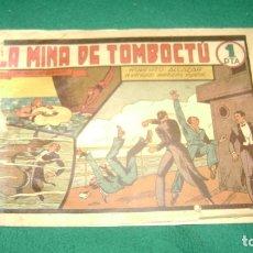 Tebeos: ROBERTO ALCAZAR 38 LA MINA DE TOMBOCTU ORIGINAL CJ 22. Lote 170322956