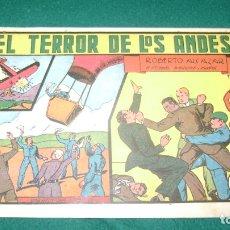 Tebeos: ROBERTO ALCAZAR 39 EL TERROR DE LOS ANDES ORIGINAL CJ 22. Lote 170322972