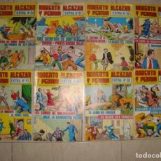 Tebeos: LOTE DE 8 COMICS ROBERTO ALCAZAR Y PEDRIN , VARIOS EXTRA . Lote 170418108