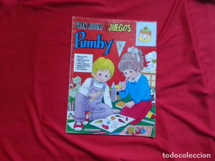 GRAN ALBUM DE JUEGOS PUMBY 28 (Tebeos y Comics - Valenciana - Pumby)