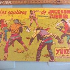 Tebeos: LOS CAUTIVOS DE JACKSON TURNER. Nº 96. 1958, EDITORIAL VALENCIANA. Lote 170921850