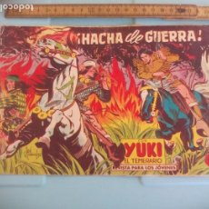 Tebeos: HACHA DE GUERRA, Nº 83 CON YUKI EL TEMERARIO. EDITORIAL VALENCIANA 1958. Lote 170930405