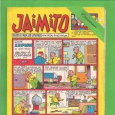 Tebeos: JAIMITO - Nº 866 - DON ESPINO EL BUEN VECINO ABUSO DE CONFIANZA - VALENCIANA - (1966).. Lote 171019423