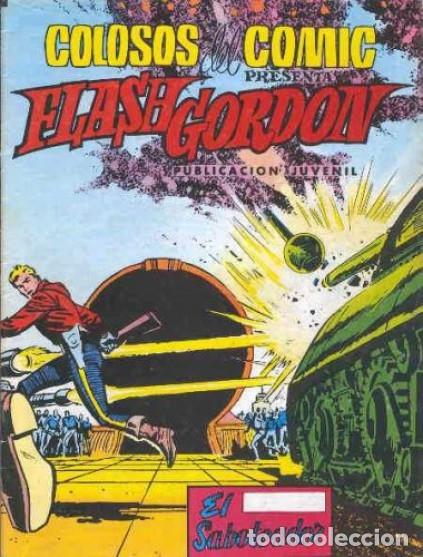 FLASH GORDON-COLOSOS DEL CÓMIC- Nº 24 -EL SABOTEADOR-1980-DIFÍCIL-GRAN DAN BARRY-BUENO-LEA-4355 (Tebeos y Comics - Valenciana - Colosos del Comic)