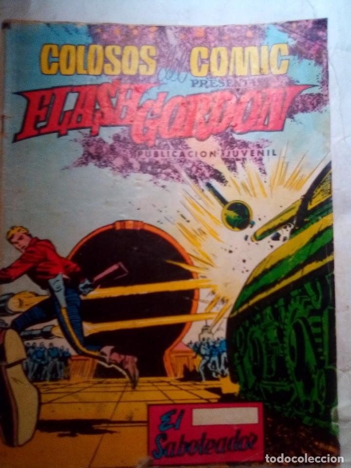 Tebeos: FLASH GORDON-COLOSOS DEL CÓMIC- Nº 24 -EL SABOTEADOR-1980-DIFÍCIL-GRAN DAN BARRY-BUENO-LEA-4355 - Foto 2 - 244522290