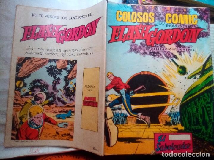 Tebeos: FLASH GORDON-COLOSOS DEL CÓMIC- Nº 24 -EL SABOTEADOR-1980-DIFÍCIL-GRAN DAN BARRY-BUENO-LEA-4355 - Foto 3 - 244522290