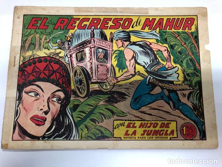 COMIC ORIGINAL EL HIJO DE LA JUNGLA Nº 11 EDITORIAL VALENCIANA (Tebeos y Comics - Valenciana - Hijo de la Jungla)