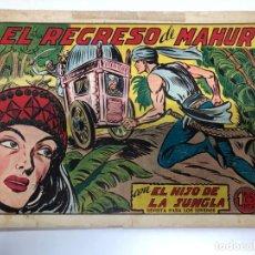 Tebeos: COMIC ORIGINAL EL HIJO DE LA JUNGLA Nº 11 EDITORIAL VALENCIANA. Lote 171424427