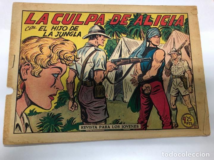 COMIC ORIGINAL EL HIJO DE LA JUNGLA Nº 13 EDITORIAL VALENCIANA (Tebeos y Comics - Valenciana - Hijo de la Jungla)
