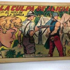 Tebeos: COMIC ORIGINAL EL HIJO DE LA JUNGLA Nº 13 EDITORIAL VALENCIANA. Lote 171424469