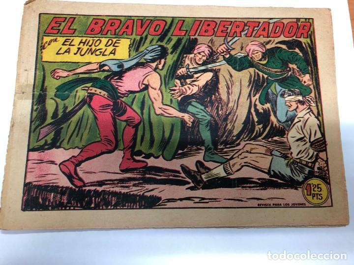 COMIC ORIGINAL EL HIJO DE LA JUNGLA Nº 18 EDITORIAL VALENCIANA (Tebeos y Comics - Valenciana - Hijo de la Jungla)