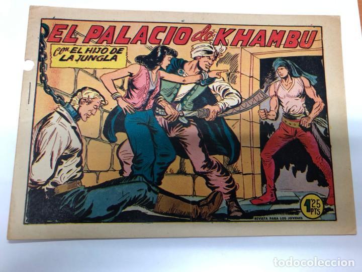 COMIC ORIGINAL EL HIJO DE LA JUNGLA Nº 19 EDITORIAL VALENCIANA (Tebeos y Comics - Valenciana - Hijo de la Jungla)