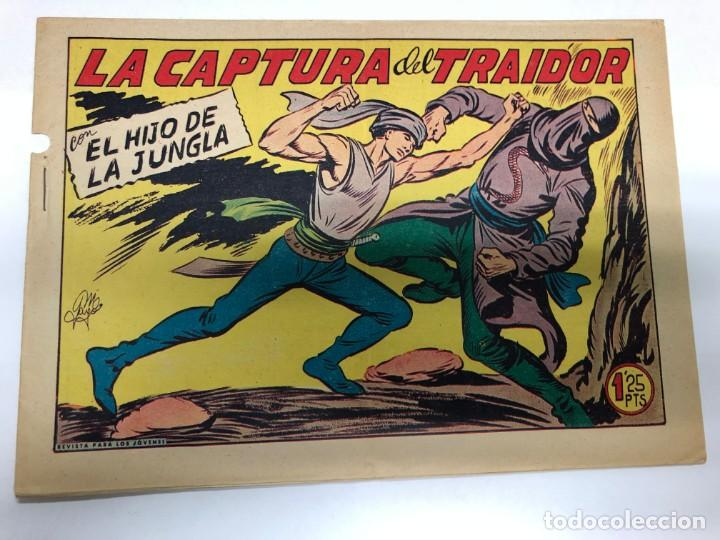 COMIC ORIGINAL EL HIJO DE LA JUNGLA Nº 23 EDITORIAL VALENCIANA (Tebeos y Comics - Valenciana - Hijo de la Jungla)