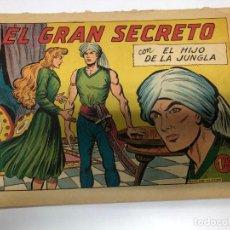 Tebeos: COMIC ORIGINAL EL HIJO DE LA JUNGLA Nº 30 EDITORIAL VALENCIANA. Lote 171424634