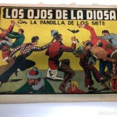 Tebeos: COMIC ORIGINAL LA PANDILLA DE LOS SIETE Nº 49 EDITORIAL VALENCIANA. Lote 171426529