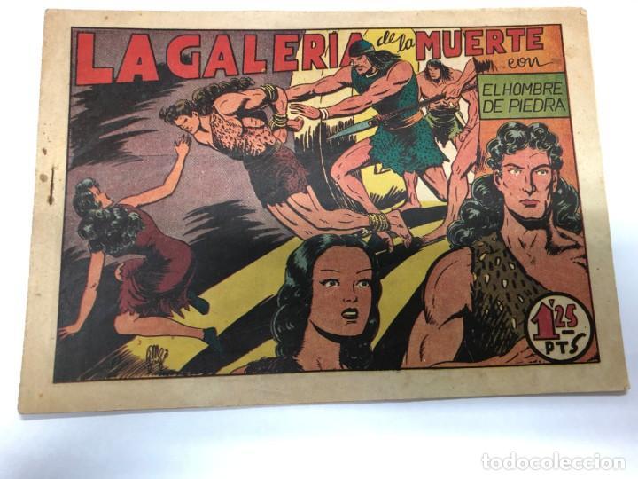COMIC ORIGINAL PURK EL HOMBRE DE PIEDRA Nº 8 EDITORIAL VALENCIANA (Tebeos y Comics - Valenciana - Purk, el Hombre de Piedra)