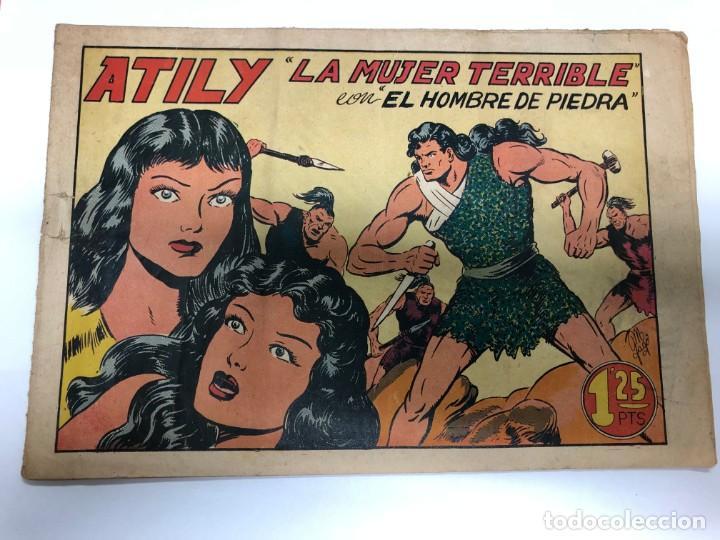 COMIC ORIGINAL PURK EL HOMBRE DE PIEDRA Nº 20 EDITORIAL VALENCIANA (Tebeos y Comics - Valenciana - Purk, el Hombre de Piedra)