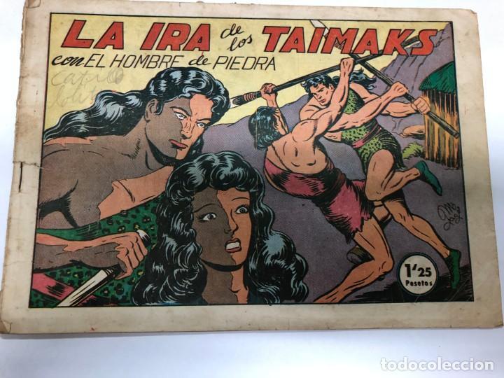 COMIC ORIGINAL PURK EL HOMBRE DE PIEDRA Nº 34 EDITORIAL VALENCIANA (Tebeos y Comics - Valenciana - Purk, el Hombre de Piedra)