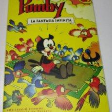 Tebeos: PUMBY,LA FANTASIA INFINITA ,LIBRO SOBRE EL PERSONAJE DE JOSÉ SANCHIS. Lote 171455603