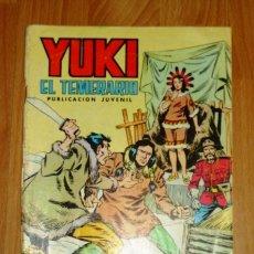 Tebeos: YUKI : EL TEMERARIO. NÚM. 22 : LA VOZ DE LA VICTORIA (SELECCIÓN AVENTURERA EDIVAL). Lote 171490659