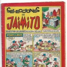 Tebeos: SELECCIONES DE JAIMITO Nº 81, ORIGINAL VALENCIANA 1965, BUEN ESTADO-IMPORTANTE LEER DESC.Y ENVIOS. Lote 171500782