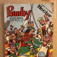 Tebeos: PUMBY REVISTA INFANTIL N° 1196. EDITORA VALENCIANA 1984.. Lote 171640997
