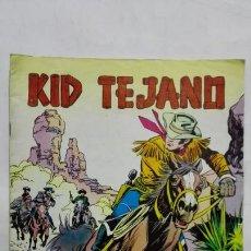 Tebeos: KID TEJANO, Nº 5 FUERA DE LA LEY, AÑO 1980, EDITORIAL VALENCIANA. Lote 171693434