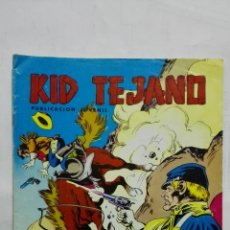 Tebeos: KID TEJANO, Nº 14 TIERRA VIOLENTA, AÑO 1980, EDITORIAL VALENCIANA. Lote 171693553
