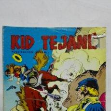 Tebeos: KID TEJANO, Nº 14 TIERRA VIOLENTA, AÑO 1980, EDITORIAL VALENCIANA. Lote 171693590