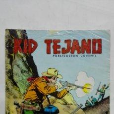 Tebeos: KID TEJANO, Nº 19 GOLPE MORTAL, AÑO 1980, EDITORIAL VALENCIANA. Lote 171693667