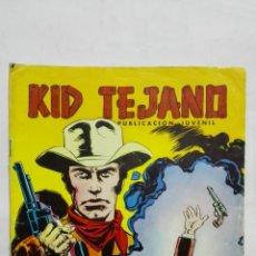 Tebeos: KID TEJANO, Nº 23 LA HISTORIA DE KID TEJANO, AÑO 1980, EDITORIAL VALENCIANA. Lote 171693777
