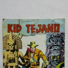 Tebeos: KID TEJANO, Nº 27 LA FORTALEZA SINIESTRA, AÑO 1980, EDITORIAL VALENCIANA. Lote 171693872