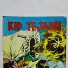 Tebeos: KID TEJANO, Nº 28 CHOQUE DE ENEMIGOS, AÑO 1980, EDITORIAL VALENCIANA. Lote 171693977