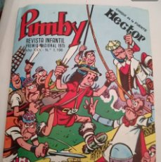 Tebeos: PUMBY REVISTA INFANTIL 1975 .N°1196. Lote 171737294
