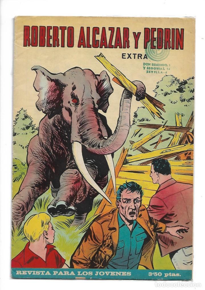 Tebeos: Roberto Alcazar y Pedrín Extra Año 1966 Lote de 85 Tebeos Originales Dibujantes Vaño Ambrós Guerrero - Foto 5 - 172069502