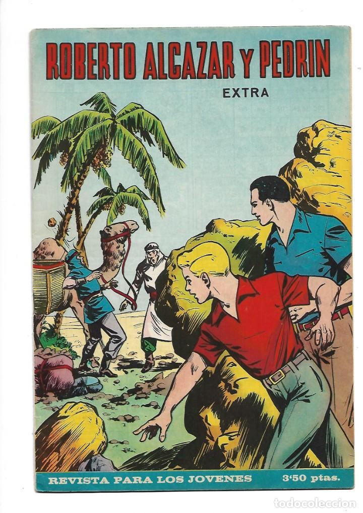 Tebeos: Roberto Alcazar y Pedrín Extra Año 1966 Lote de 85 Tebeos Originales Dibujantes Vaño Ambrós Guerrero - Foto 6 - 172069502