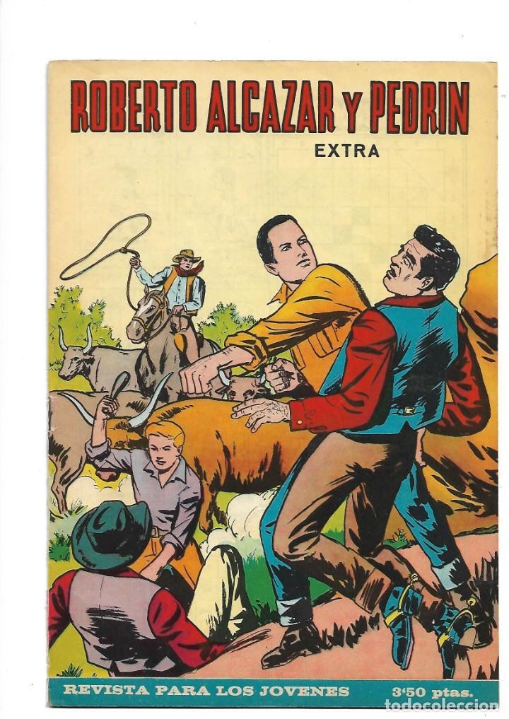 Tebeos: Roberto Alcazar y Pedrín Extra Año 1966 Lote de 85 Tebeos Originales Dibujantes Vaño Ambrós Guerrero - Foto 7 - 172069502