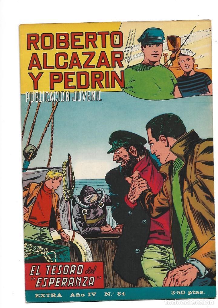 Tebeos: Roberto Alcazar y Pedrín Extra Año 1966 Lote de 85 Tebeos Originales Dibujantes Vaño Ambrós Guerrero - Foto 8 - 172069502