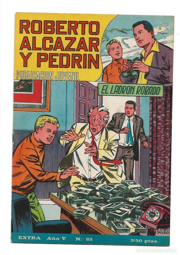 Tebeos: Roberto Alcazar y Pedrín Extra Año 1966 Lote de 85 Tebeos Originales Dibujantes Vaño Ambrós Guerrero - Foto 9 - 172069502
