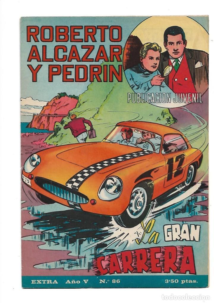 Tebeos: Roberto Alcazar y Pedrín Extra Año 1966 Lote de 85 Tebeos Originales Dibujantes Vaño Ambrós Guerrero - Foto 10 - 172069502