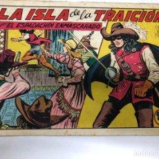 Tebeos: COMIC ORIGINAL EL ESPADACHIN ENMASCARADO Nº 156 EDITORIAL VALENCIANA. Lote 172084967