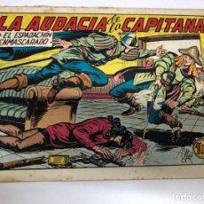 Tebeos: COMIC ORIGINAL EL ESPADACHIN ENMASCARADO Nº 158 EDITORIAL VALENCIANA. Lote 172085063