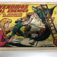 Tebeos: COMIC ORIGINAL EL ESPADACHIN ENMASCARADO Nº 159 EDITORIAL VALENCIANA. Lote 172086049