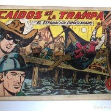 Tebeos: COMIC ORIGINAL EL ESPADACHIN ENMASCARADO Nº 160 EDITORIAL VALENCIANA. Lote 172086089