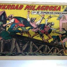 Tebeos: COMIC ORIGINAL EL ESPADACHIN ENMASCARADO Nº 173 EDITORIAL VALENCIANA. Lote 172086244