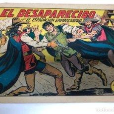 Tebeos: COMIC ORIGINAL EL ESPADACHIN ENMASCARADO Nº 183 EDITORIAL VALENCIANA. Lote 172086312