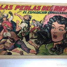Tebeos: COMIC ORIGINAL EL ESPADACHIN ENMASCARADO Nº 192 EDITORIAL VALENCIANA. Lote 172086369