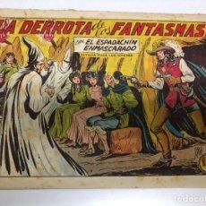 Tebeos: COMIC ORIGINAL EL ESPADACHIN ENMASCARADO Nº 219 EDITORIAL VALENCIANA. Lote 172086525