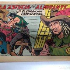Tebeos: COMIC ORIGINAL EL ESPADACHIN ENMASCARADO Nº 242 EDITORIAL VALENCIANA. Lote 172086725