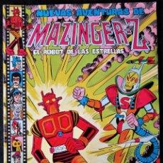 BDs: MAZINGER Z EL ROBOT DE LAS ESTRELLAS - NUMERO 7 - VALENCIANA 1978 (NO CONTIENE EL RECORTABLE). Lote 172372647